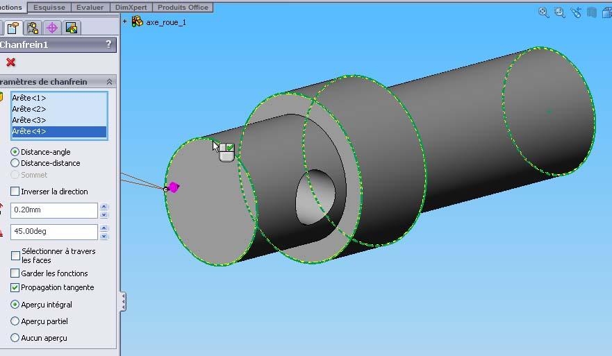 Débuter avec SolidWorks 06-1210