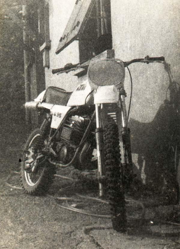Motos tout terrain, années 80 495_kt10