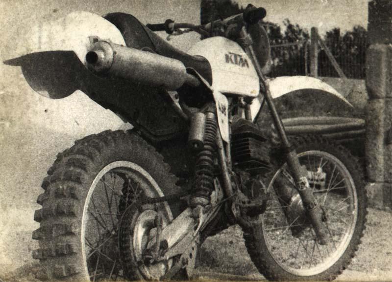 Motos tout terrain, années 80 495_kt11
