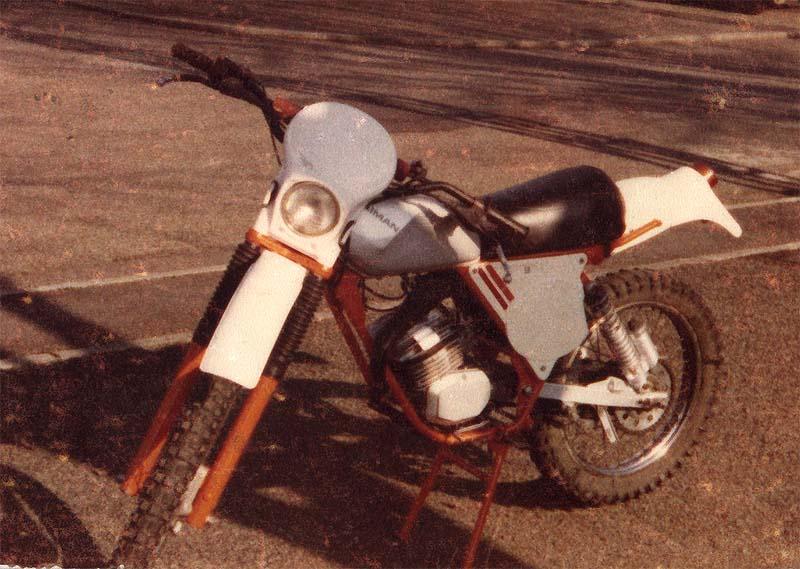Motos tout terrain, années 80 50_kai11