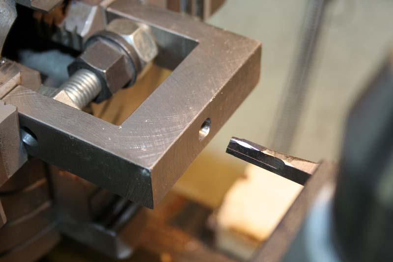 Fabrication d'un appareil à tourner les sphères Brocha10