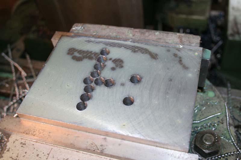 Fabrication d'un appareil à tourner les sphères Chaine10