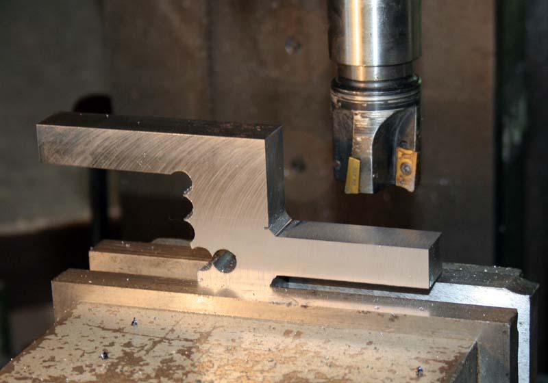 Fabrication d'un appareil à tourner les sphères Detour11