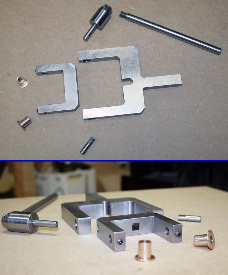 Fabrication d'un appareil à tourner les sphères Fini110