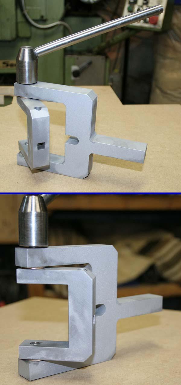 Fabrication d'un appareil à tourner les sphères Fini210