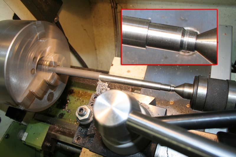 Fabrication d'un appareil à tourner les sphères Levier10