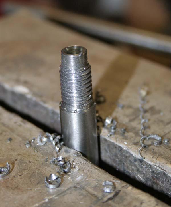 Fabrication d'un appareil à tourner les sphères Levier11