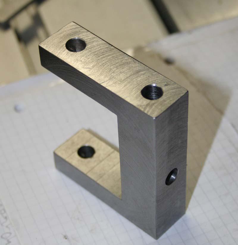 Fabrication d'un appareil à tourner les sphères Perca210