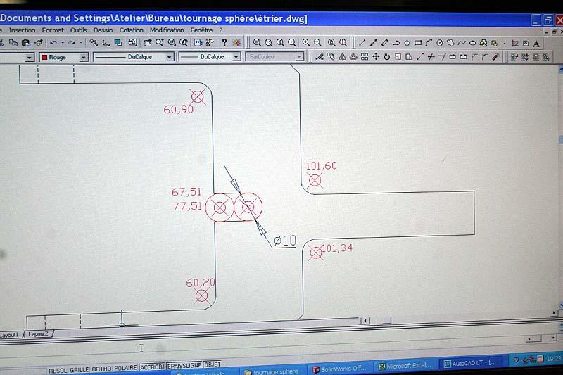 Fabrication d'un appareil à tourner les sphères Plan_p10