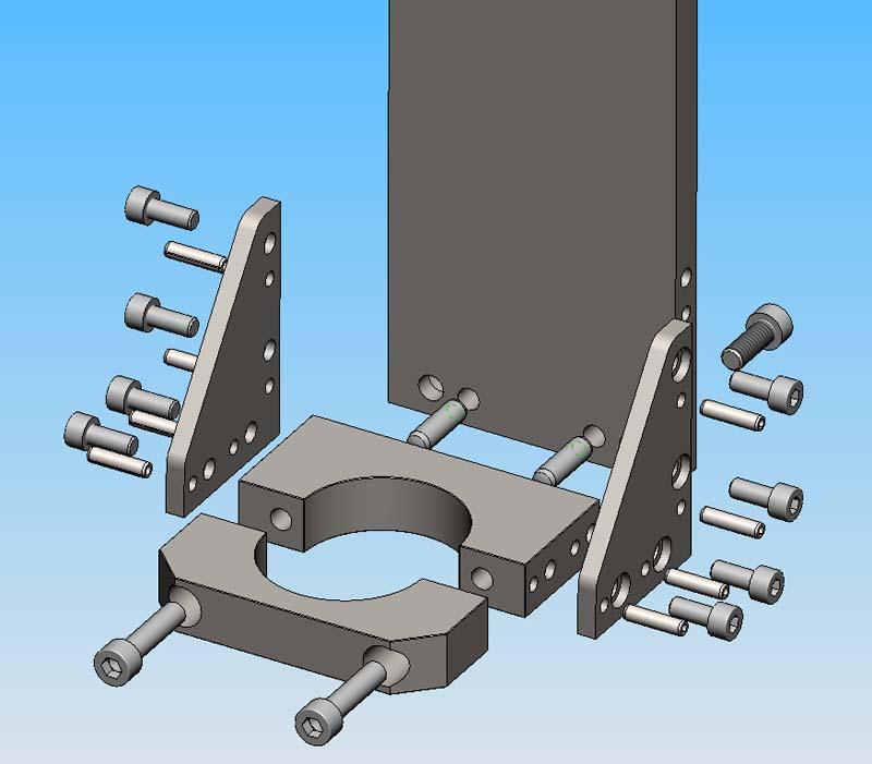[Fabrication] Porte outil rapide pour CNc Pocn0510