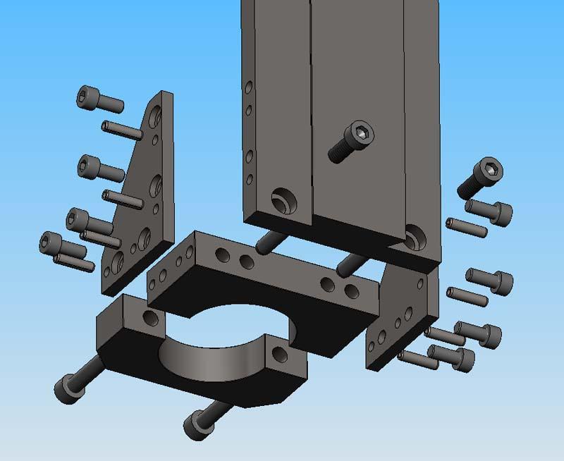 [Fabrication] Porte outil rapide pour CNc Pocn0610