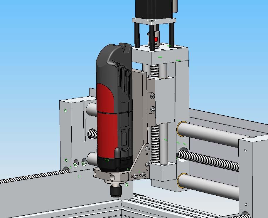 [Fabrication] Porte outil rapide pour CNc Pocn0710