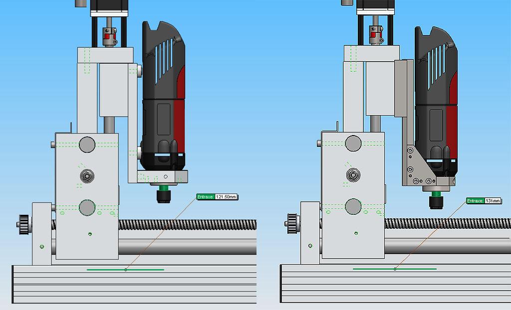 [Fabrication] Porte outil rapide pour CNc Pocn0810