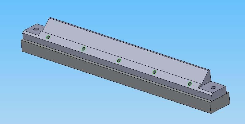 Support d'affutage de lames de R/D Suppor14