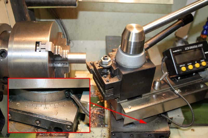 Fabrication d'un appareil à tourner les sphères Tete310