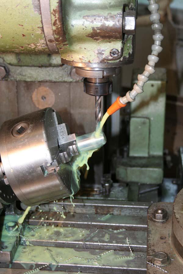 Fabrication d'un appareil à tourner les sphères Tete510