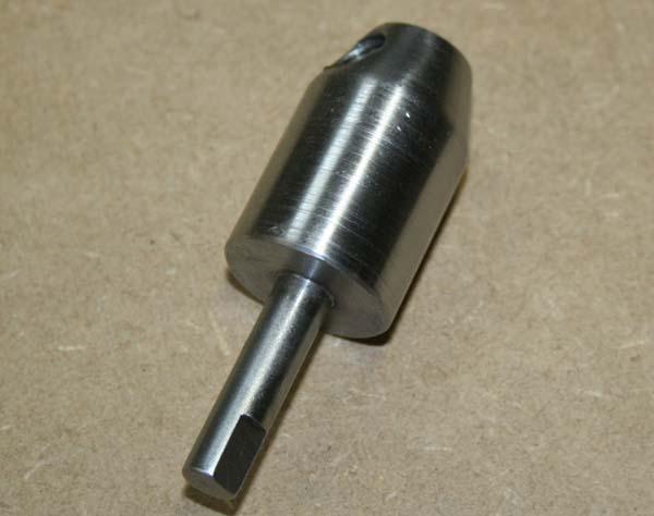 Fabrication d'un appareil à tourner les sphères Tete710