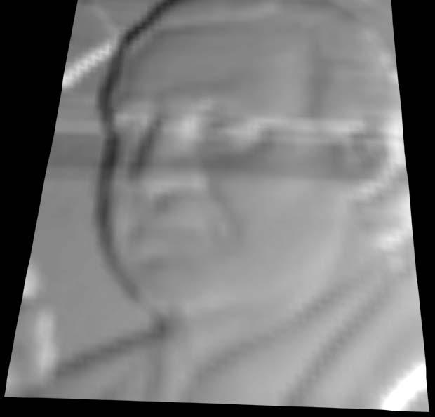 Numérisation 3D avec Mach3 Visage10