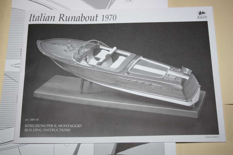 RIVA RUNABOUT 1:5 413