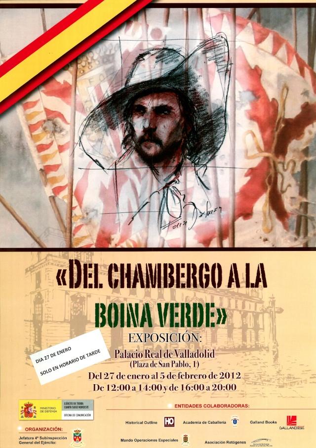 *** Exposicion Ferrer Dalmau y trajes militares en el Palacio Real de Valladolid *** Cartel10