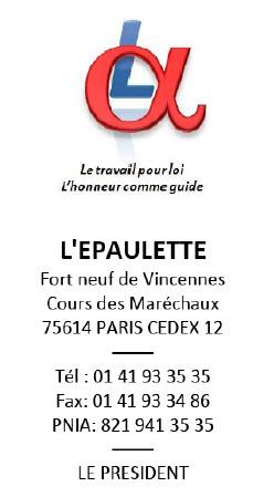 """Lettre de l'Epaulette à Martine """"AUBRY"""" 18-06-10"""