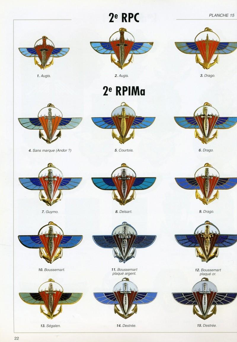 2ème RPIMa : l'insigne. Baltze14