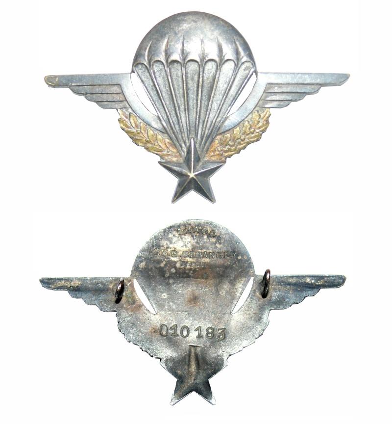 Vous avez oublié votre n° de brevet ou perdu votre attestation de brevet parachutiste militaire Brevet14