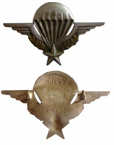 Vous avez oublié votre n° de brevet ou perdu votre attestation de brevet parachutiste militaire Brevet15