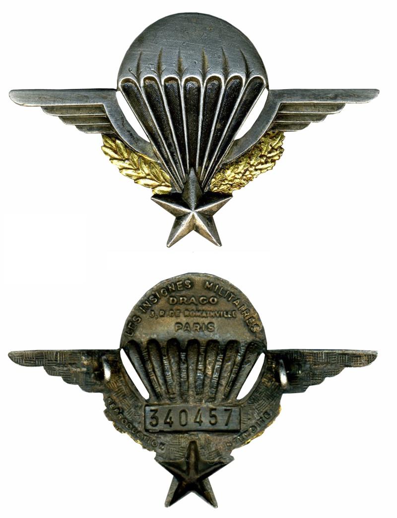 Vous avez oublié votre n° de brevet ou perdu votre attestation de brevet parachutiste militaire Brevet16