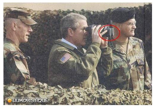 Que les Français ne viennent pas se plaindre Bush10