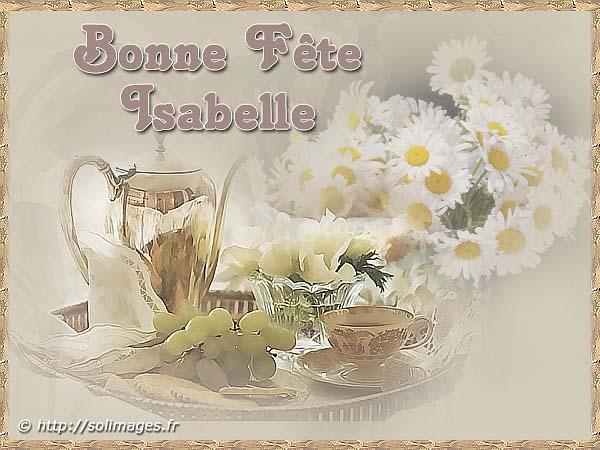 bonne fête Isabelle Isabel10