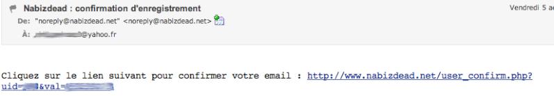 [NID] NABIZDEAD pour les Nuls: le mode d'emploi pas à pas. Email_11