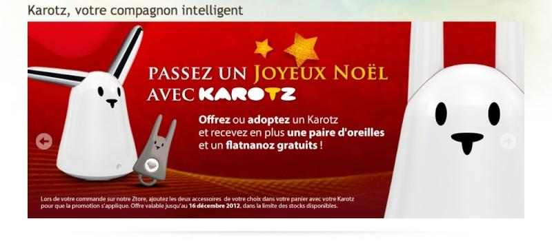 Soldes d'hiver sur le site Karotz.com Promo_10