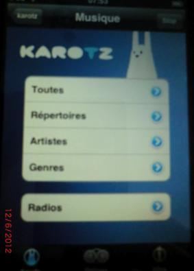 Le Karotz Controller Radio10