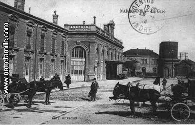 Villes et villages en cartes postales anciennes .. - Page 35 Gare-n10