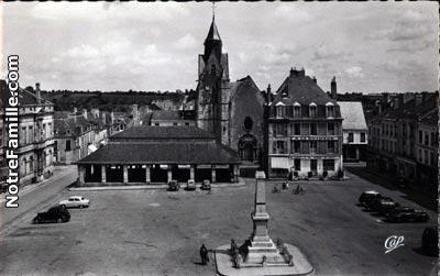 Villes et villages en cartes postales anciennes .. - Page 35 Mamers10