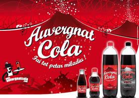 Nissa cola, un coca cola regional Auverg10