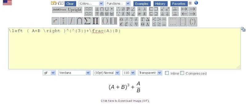 Trang web giúp nhập công thức Toán học -Vật lý -Hóa học Codeso10