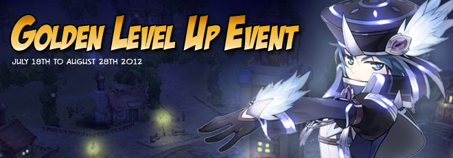 The Golden Level Up Event Htmled10