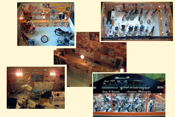 Jouets, jeux anciens et miniatures sur le monde Biker - Page 2 Conces11
