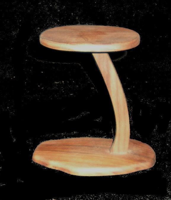 Hand carved cherry pedestal/cascade stands Spedw110