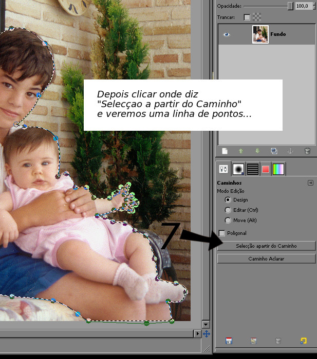 RETIRAR FUNDO DE UMA FOTO NO GIMP Paso710