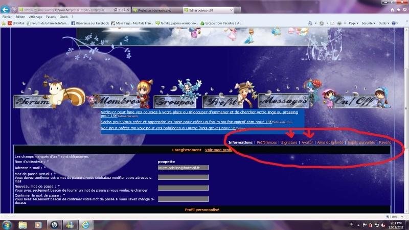 Forum: comment mettre un avatar et/ou une signature Sans_t10