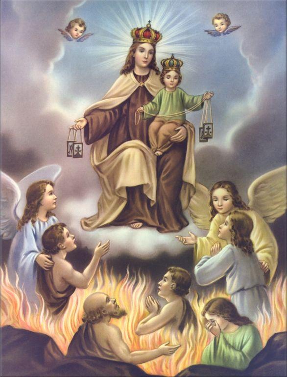 Commémoraison de tous les Fidèles Défunts  Purgat16