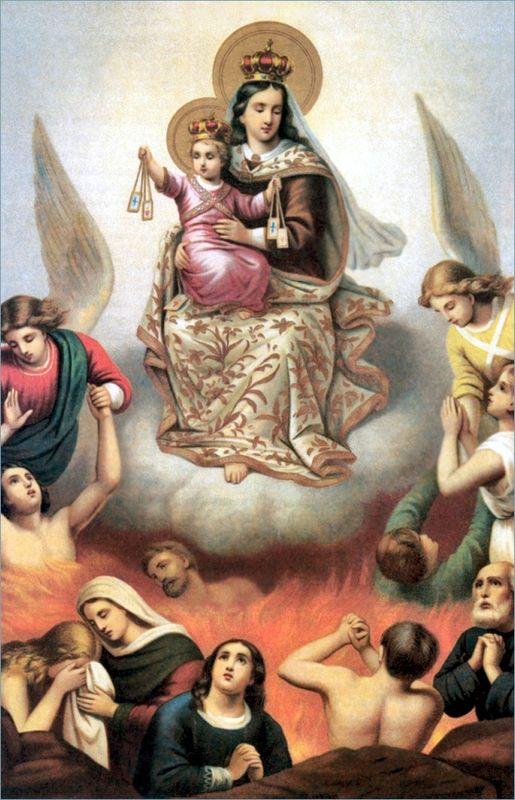 Commémoraison de tous les Fidèles Défunts  Purgat17