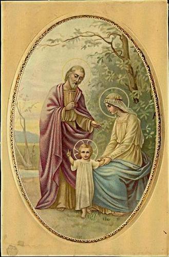 Fête de la Sainte Famille Sainte12