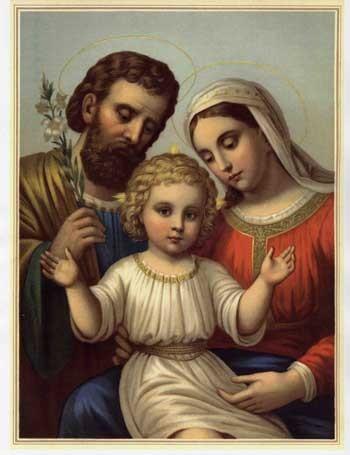 Fête de la Sainte Famille Sainte16