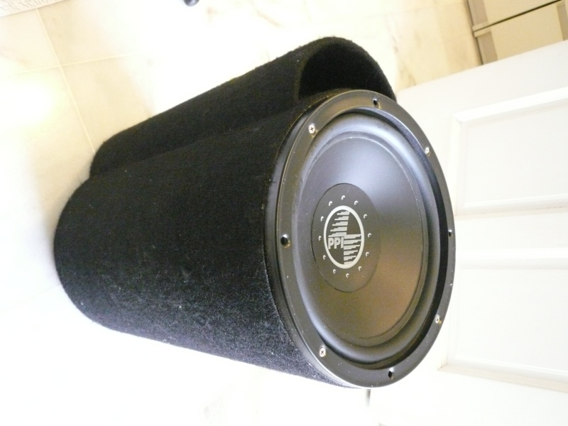 """WTS: Precision Power (PPI) 10"""" Sub with Tube Box ( Used ) Ppi11"""