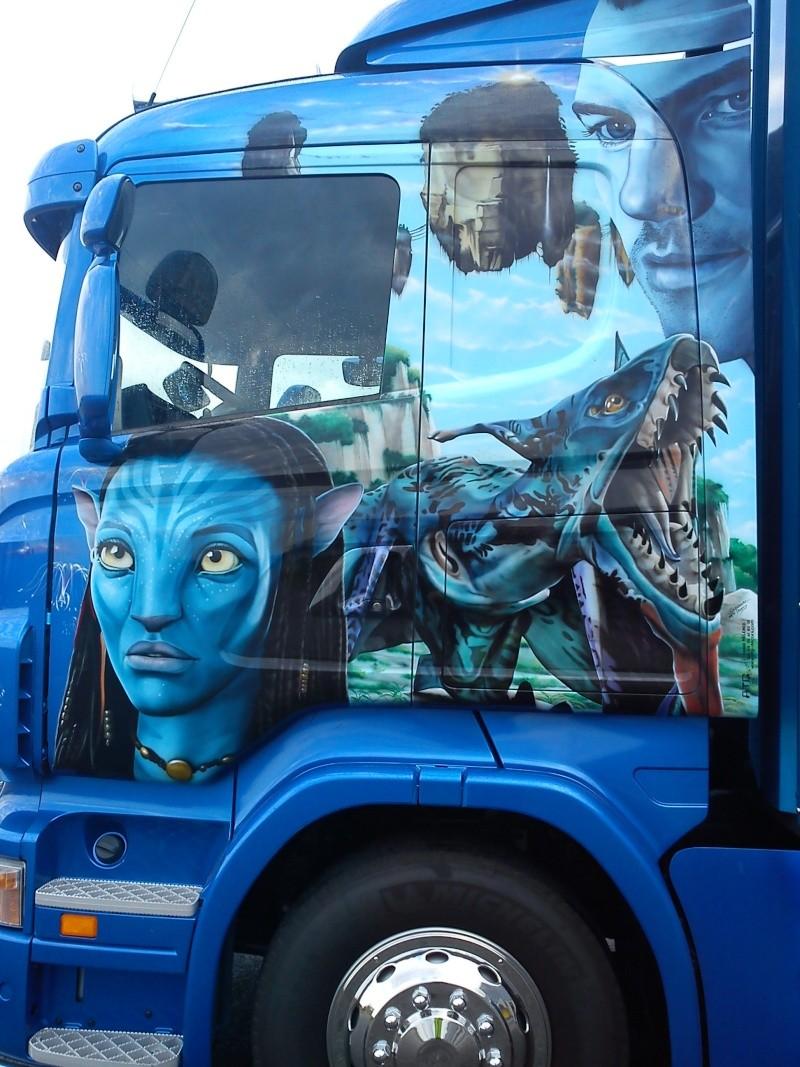 Peinture Perso Sur Camion