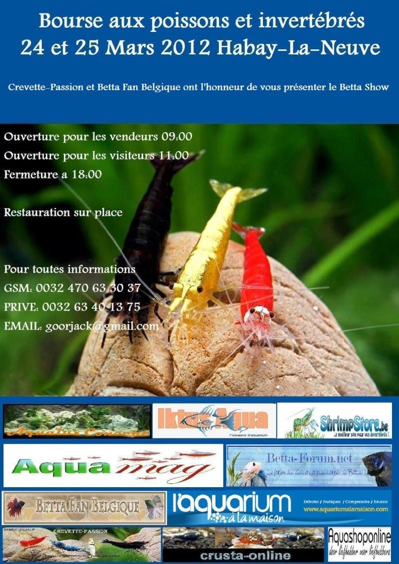 Bourse crevette-passion 24-25 mars 2012 Habay La Neuve (BE) Affich16